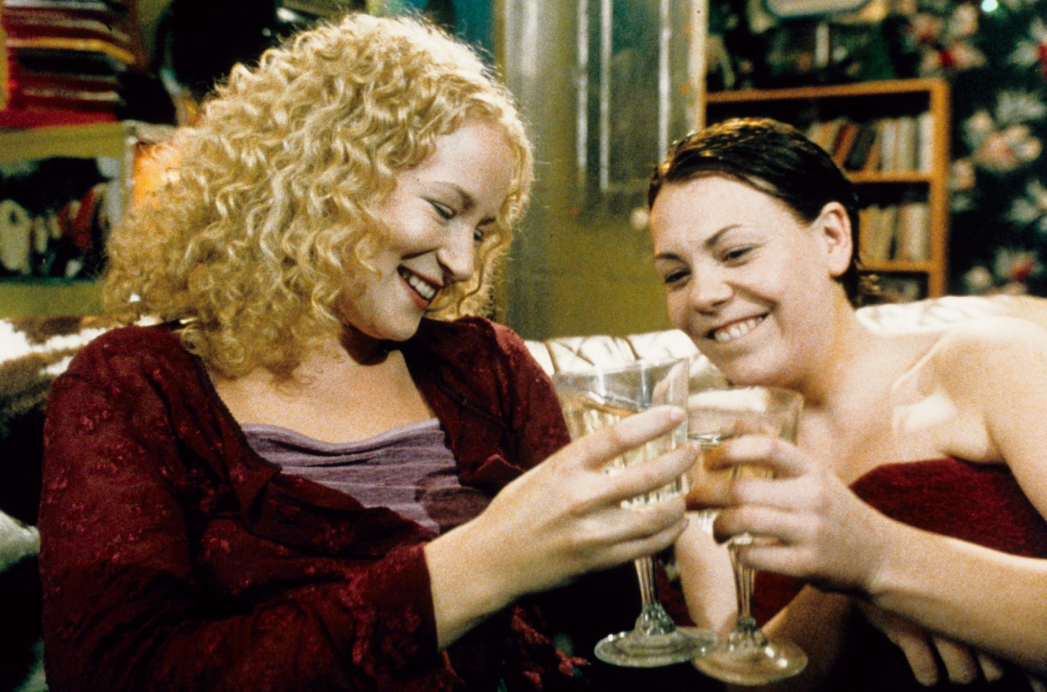 Lorraine Pilkington and Nicola Reynolds in Human Traffic (1999)