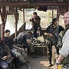 Sylvester Stallone, Jake La Botz, Graham McTavish, Tim Kang, and Reynaldo Gallegos in Rambo (2008)