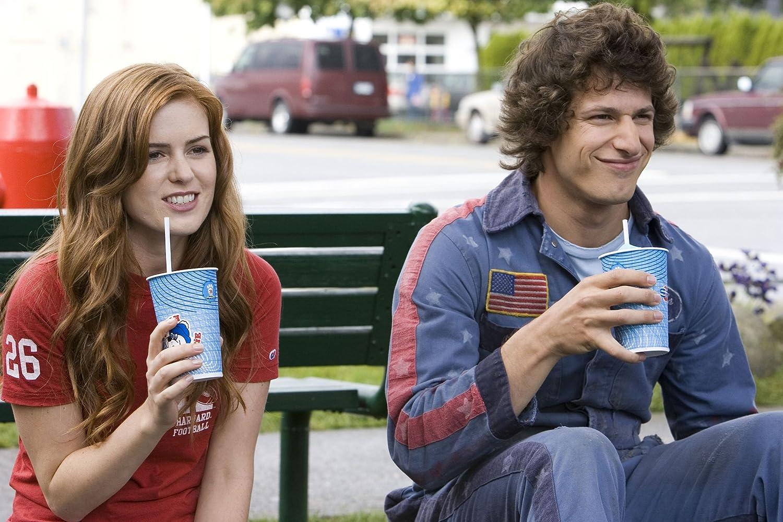 Isla Fisher dan Andy Samberg dalam Hot Rod (2007)