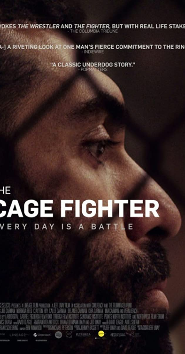 Subtitle of The Cage Fighter