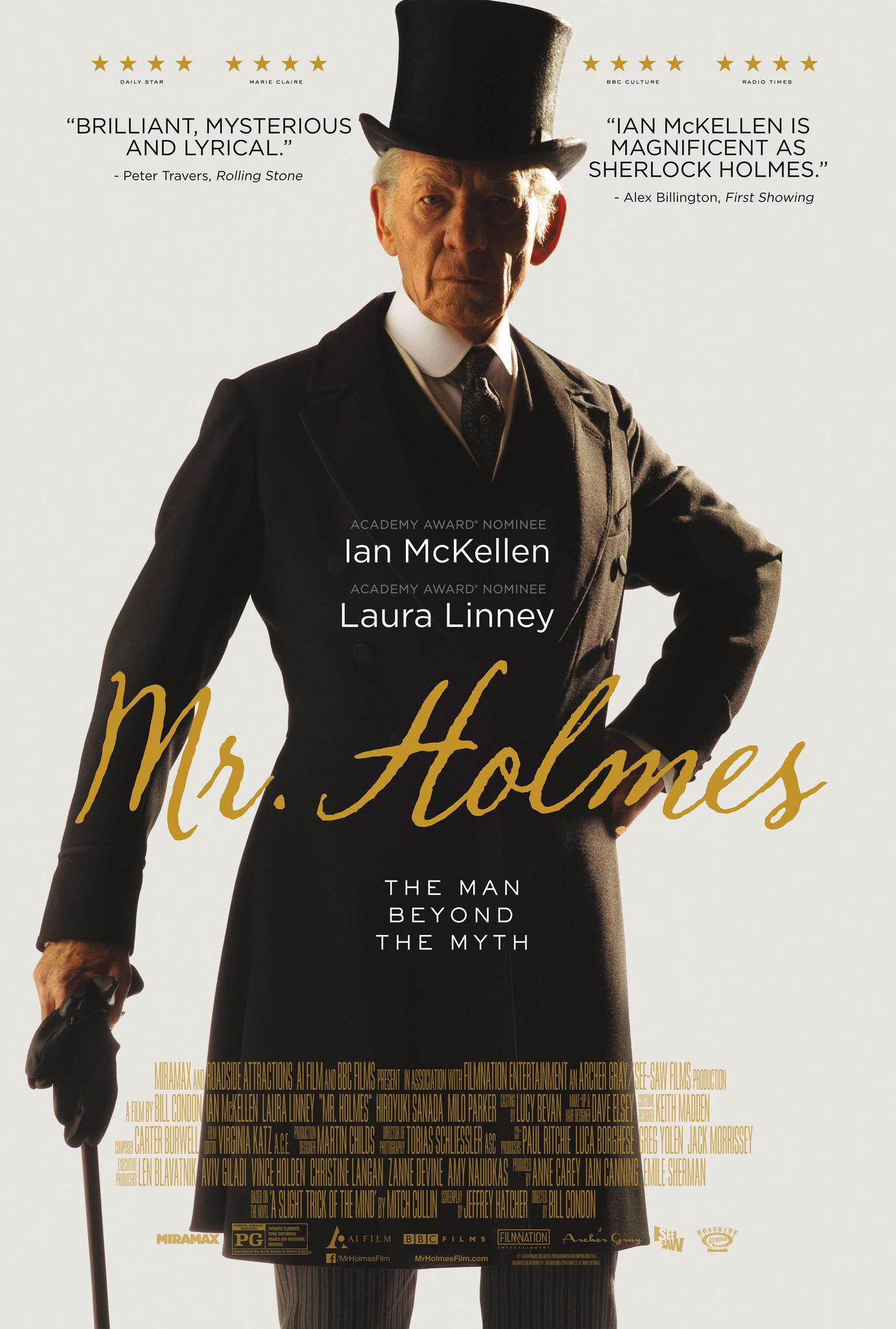 Mr holmes netflix