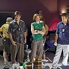 Jimmy Smits, Michael C. Hall, C.S. Lee, David Zayas, and Jennifer Carpenter in Dexter (2006)