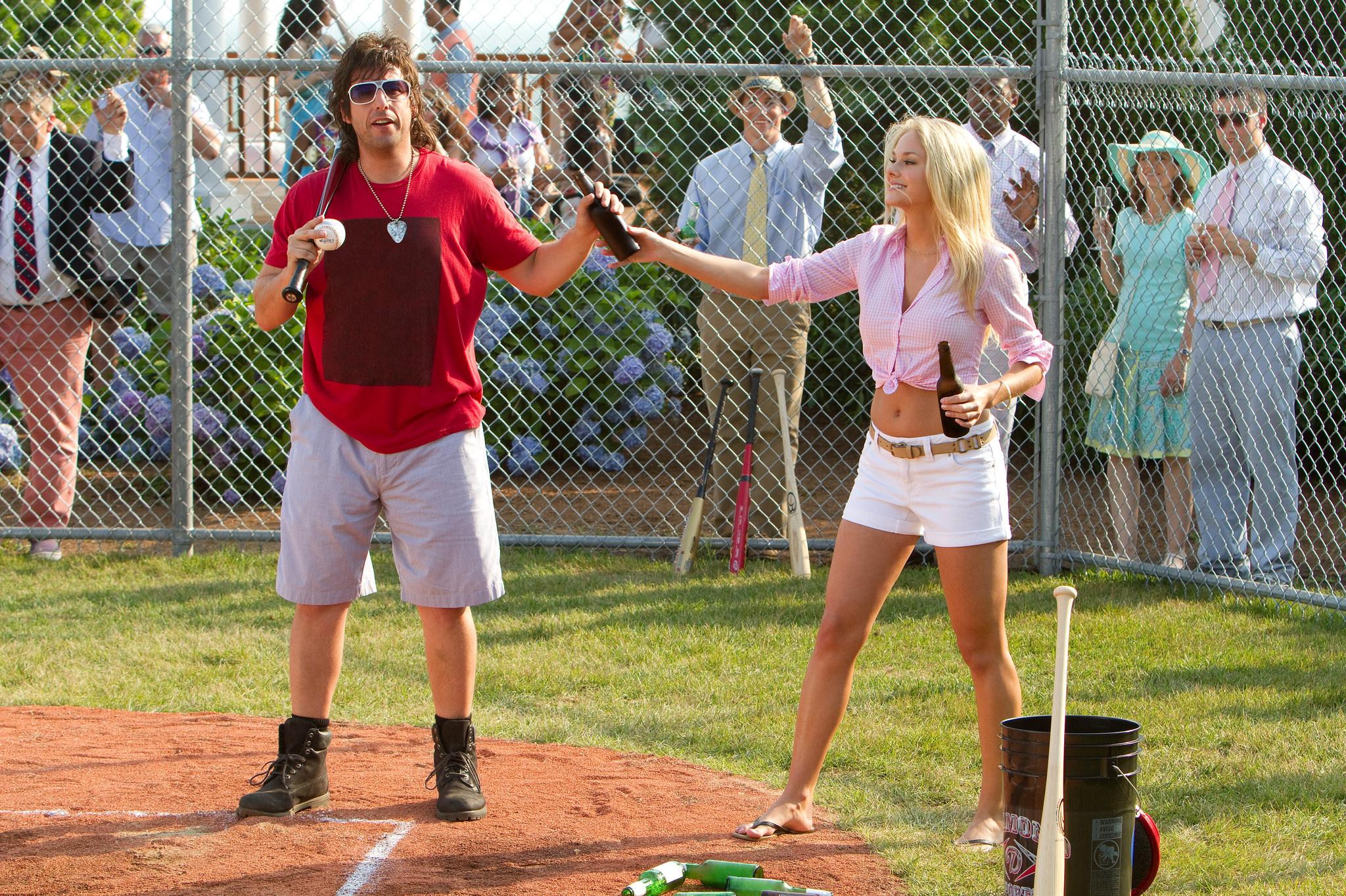 Adam Sandler and Abigail Klein in That's My Boy (2012)