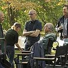 Michael Keaton, Larry David, Jon Hamm, and Greg Mottola in Clear History (2013)
