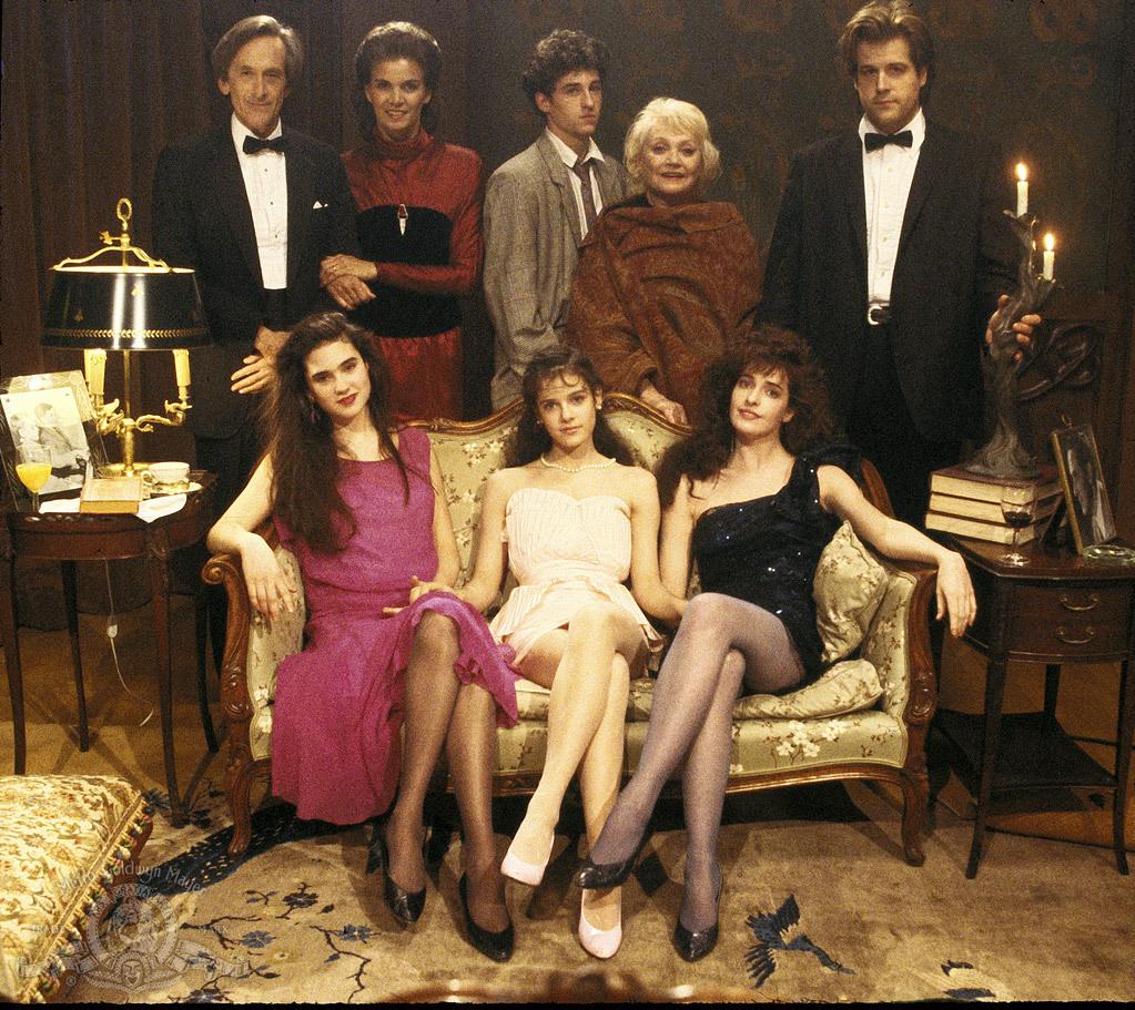 Jennifer Connelly, Patrick Dempsey, Florinda Bolkan, Lance Edwards, Ashley Greenfield, Andre Gregory, Lila Kedrova, and Sheila Kelley in Some Girls (1988)