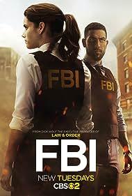 Missy Peregrym and Zeeko Zaki in FBI (2018)