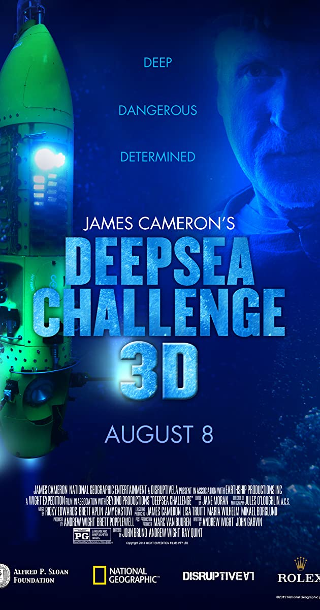 Deepsea Challenge 3D (2014) - IMDb