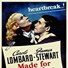 James Stewart and Carole Lombard in Made for Each Other (1939)