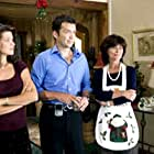 """Still of David Millbern, Daphne Zuniga, and Adrienne Barbeau in """"Christmas Do-Over"""" for ABC Family."""