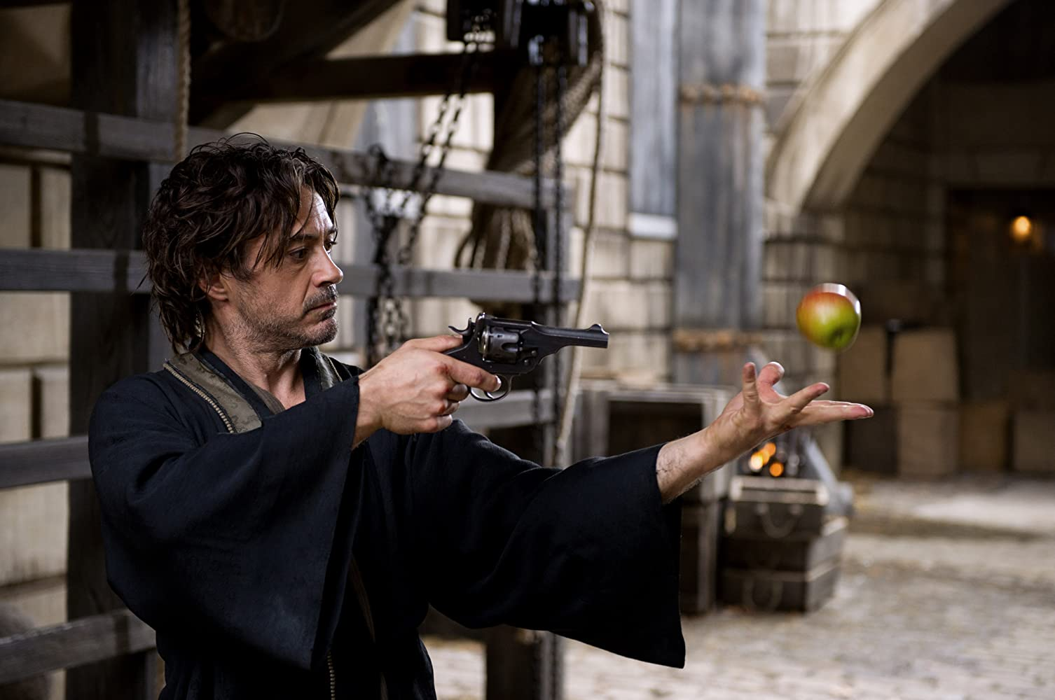 Robert Downey Jr. in Sherlock Holmes: A Game of Shadows (2011)