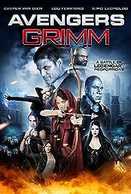 Casper Van Dien, Lou Ferrigno, Lauren Parkinson, and Elizabeth Peterson in Avengers Grimm (2015)