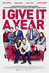 Minnie Driver, Jason Flemyng, Simon Baker, Rose Byrne, Anna Faris, Stephen Merchant, and Rafe Spall in I Give It a Year (2013)