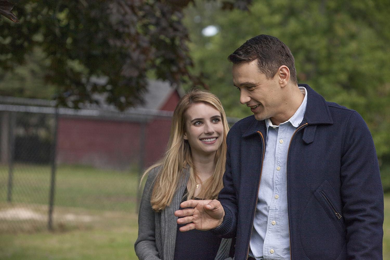 James Franco dan Emma Roberts dalam I Am Michael (2015)