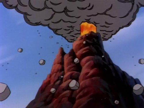 Raphael Versus the Volcano