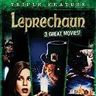 Jennifer Aniston and Warwick Davis in Leprechaun (1993)