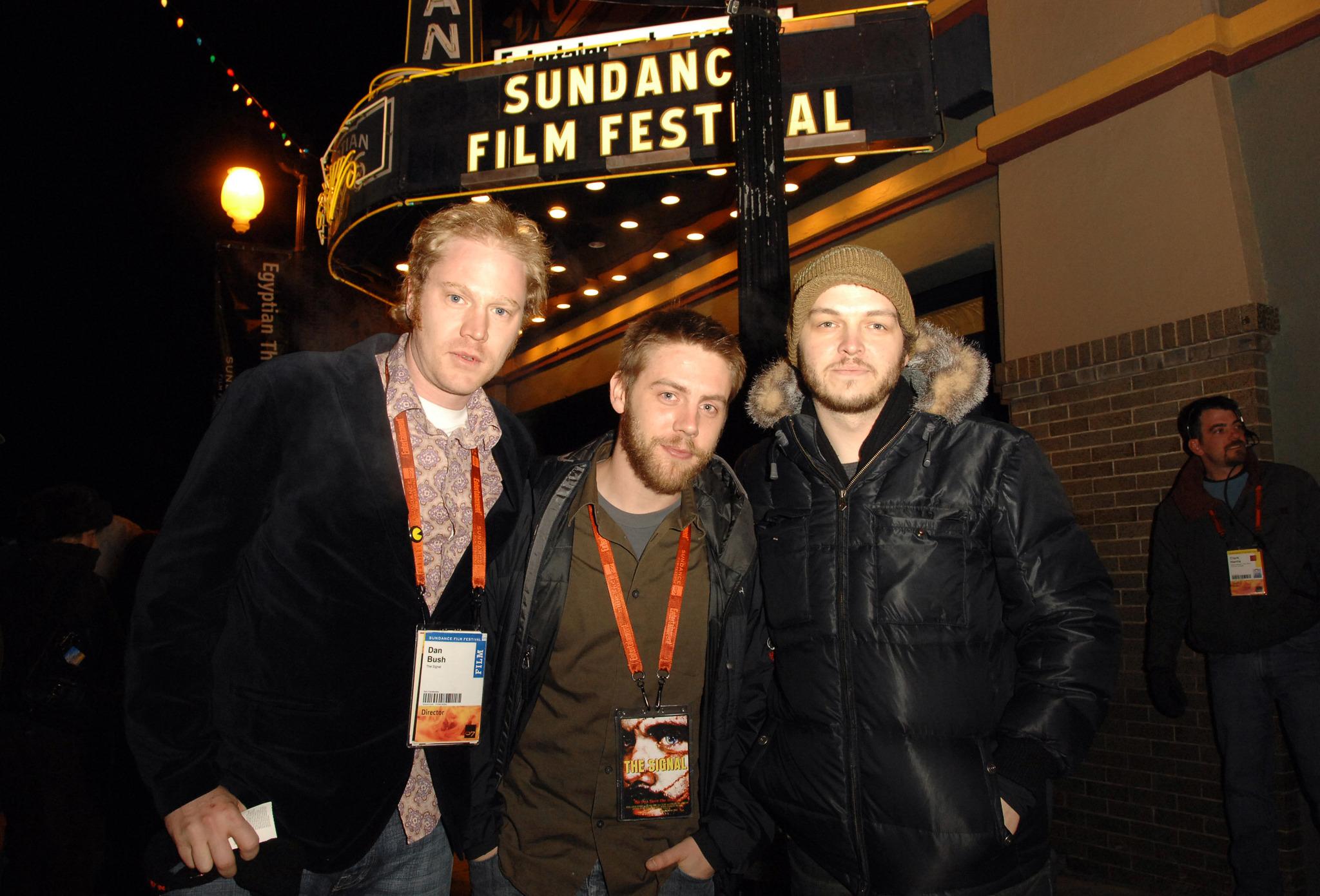 Dan Bush, Jacob Gentry, and David Bruckner