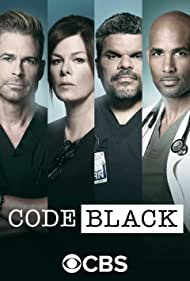 Rob Lowe, Marcia Gay Harden, Luis Guzmán, and Boris Kodjoe in Code Black (2015)