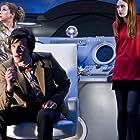 Alex Kingston, Matt Smith, and Karen Gillan in Doctor Who (2005)