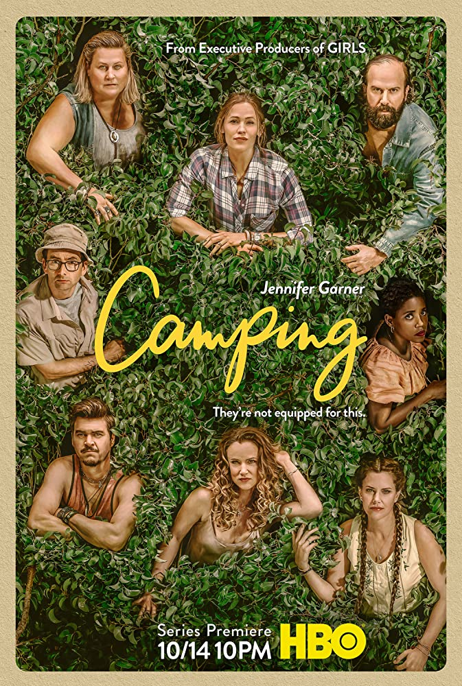 Juliette Lewis, Jennifer Garner, David Tennant, and Bridget Everett in Camping (2018)