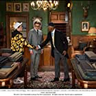 Colin Firth, Samuel L. Jackson, and Taron Egerton in Kingsman: The Secret Service (2014)