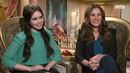 IMDb Asks Julia Roberts, Lily Collins: What's Your 1st Movie in a Movie Theater?
