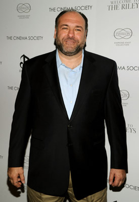 James Gandolfini at an event for Welcome to the Rileys (2010)
