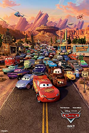 Cars (2006) Full Movie Download In Hindi-English (Dual Audio) Bluray 480p [350MB] | 720p [700MB]
