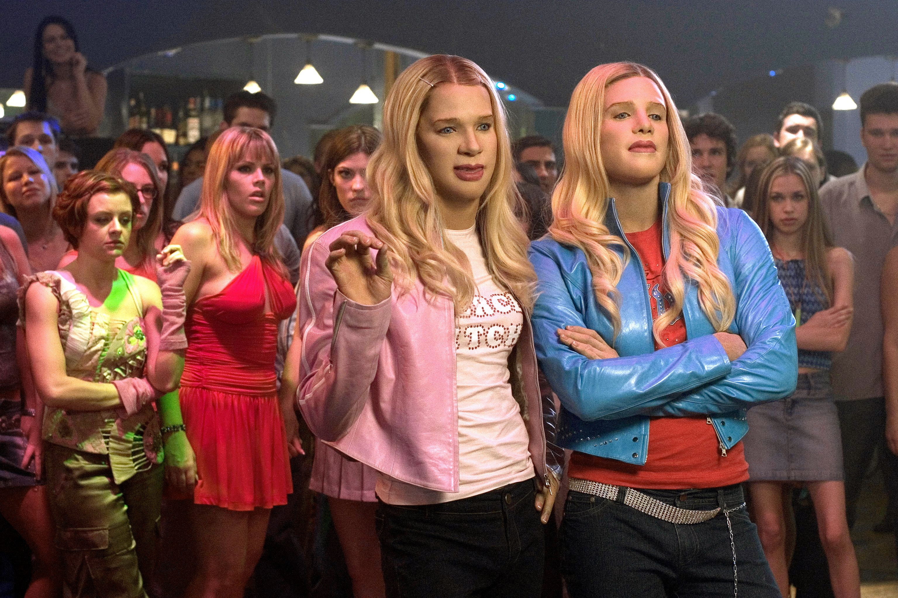 who are the wilson sisters in white chicks