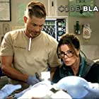 Rob Lowe and Marcia Gay Harden in Code Black (2015)