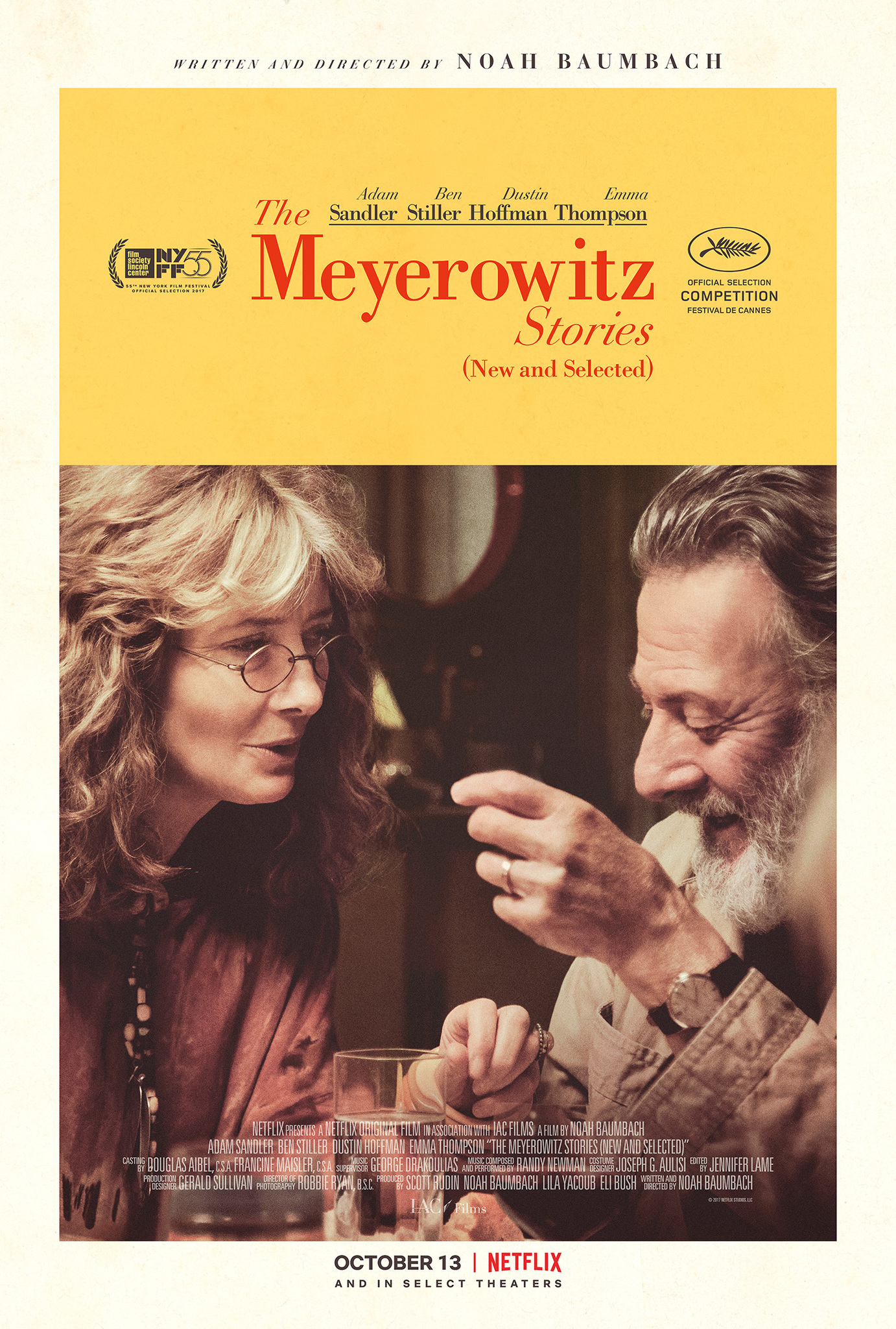 Dustin Hoffman and Emma Thompson in The Meyerowitz Stories (New and Selected) (2017)
