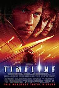 Gerard Butler, Frances O'Connor, and Paul Walker in Timeline (2003)