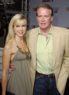 Lee Majors con encantador, Esposa Faith Majors