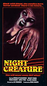 Legal dvd downloads movies Night Creature by Luigi Cozzi [640x640]