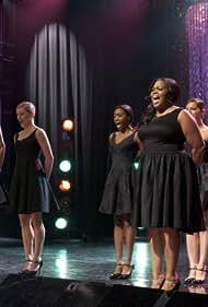 Naya Rivera and Amber Riley in Glee (2009)
