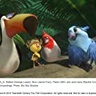 Jamie Foxx, George Lopez, Will.i.am, and Rachel Crow in Rio 2 (2014)