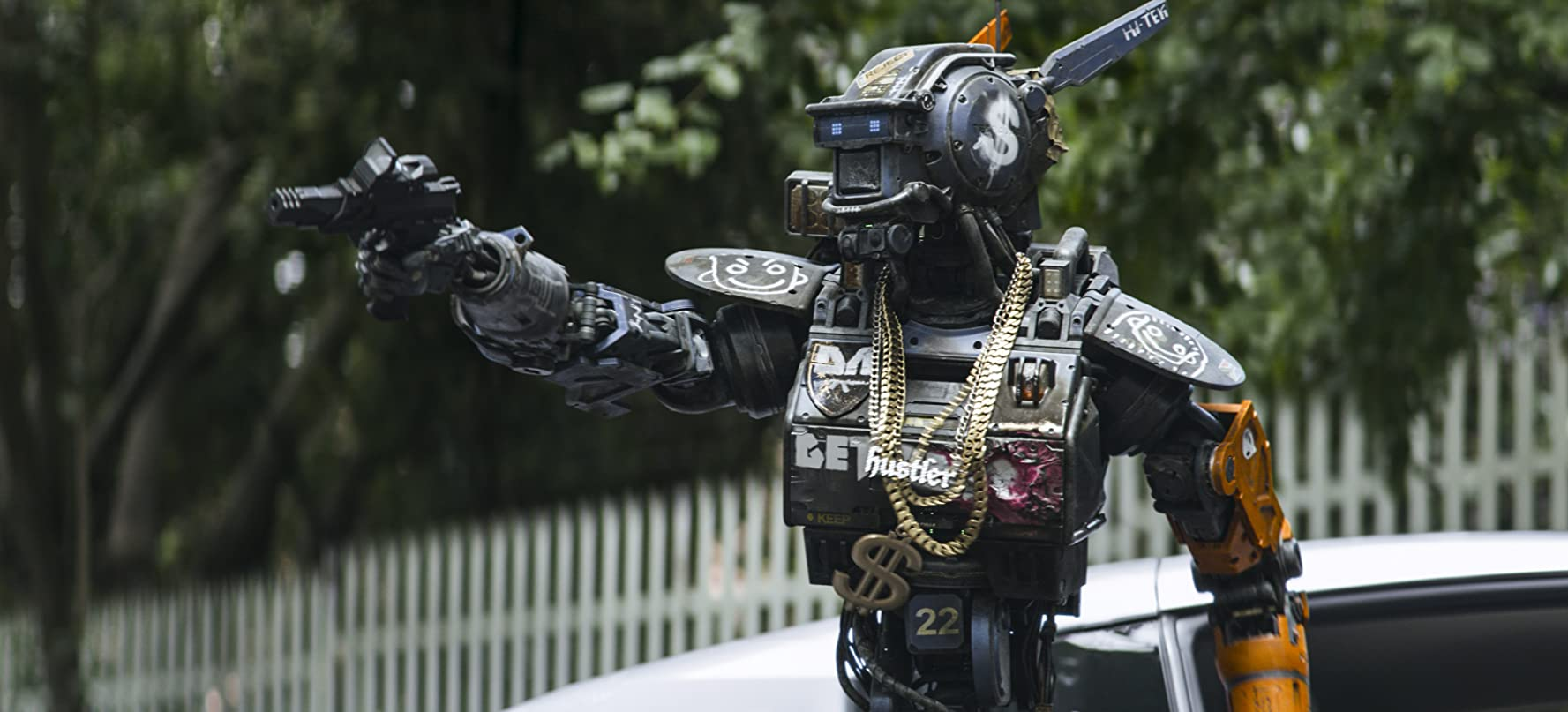 Sharlto Copley in Chappie (2015)