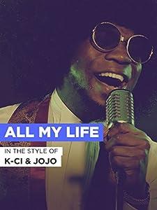 Watch new movies full K-Ci \u0026 JoJo: All My Life by [HDRip]