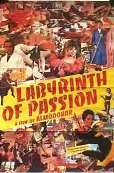 Labyrinth of Passion Pelicula Poster