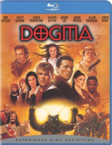 Poster Dogma Alan Rickman Metatron ben Affleck Matt Damon Salma Hayek Cinema #1