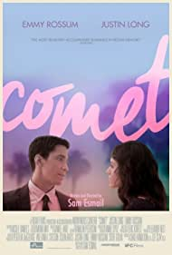 Emmy Rossum and Justin Long in Comet (2014)