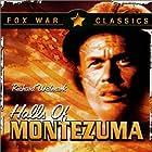 Jack Palance and Richard Widmark in Halls of Montezuma (1951)