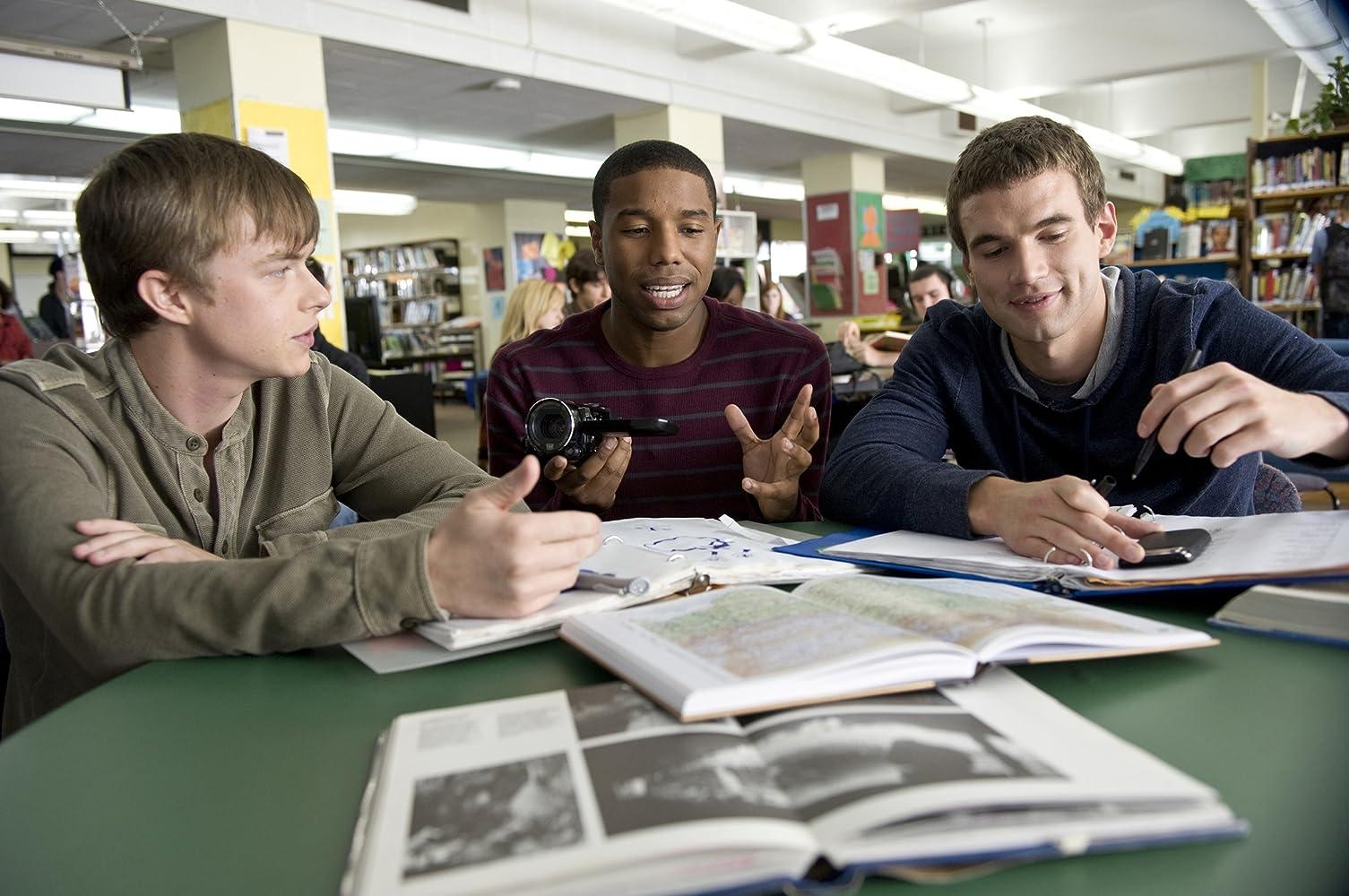 Michael B. Jordan, Dane DeHaan, and Alex Russell in Chronicle (2012)