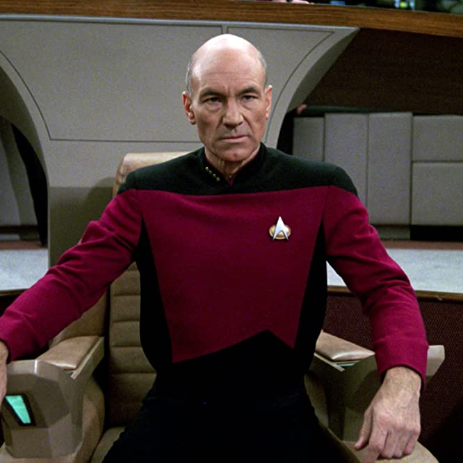 Patrick Stewart in Star Trek: The Next Generation (1987)