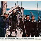 David Niven, Gregory Peck, Anthony Quinn, Stanley Baker, James Darren, and Anthony Quayle in The Guns of Navarone (1961)