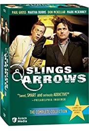 Slings and Arrows Poster