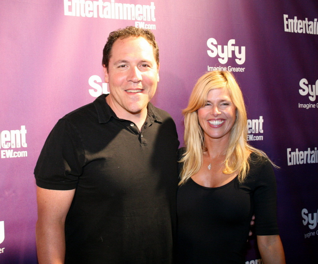 Jon Favreau with beautiful, Wife Joya Tillem
