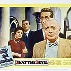 Peter Lorre, Gina Lollobrigida, Marco Tulli, and Edward Underdown in Beat the Devil (1953)