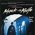 Raul Julia, Richard Harris, Roger Daltrey, Julia Migenes, and Julie Walters in Mack the Knife (1989)