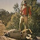John Wayne and Johnny Crawford in El Dorado (1966)