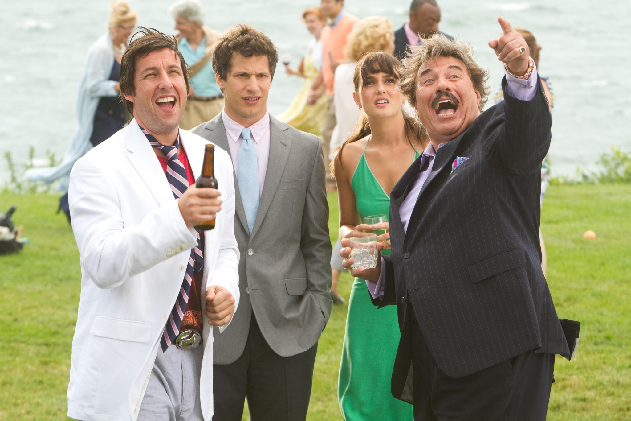 Adam Sandler, Tony Orlando, Leighton Meester, and Andy Samberg in That's My Boy (2012)